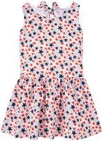 E-Land Kids Anna Dress (Toddler/Kid) - Navy-6x