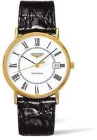 Longines Leather Strap Watch