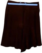 Joseph Brown Leather Skirts