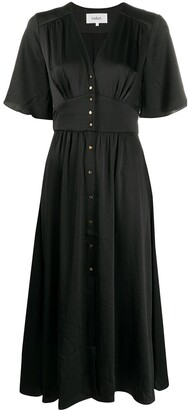 BA&SH Pamela V-neck dress