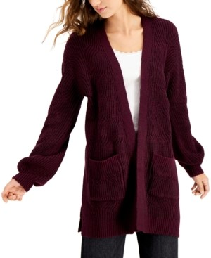 Willow Drive Shaker Stitch Cardigan