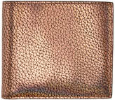 Paul Smith Gold Metallic Bifold Wallet