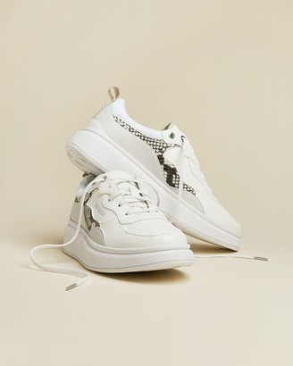 Ted Baker Snakeskin Chunky Trainers