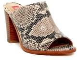 Elaine Turner Designs Rori Open Toe Python Embossed Mule