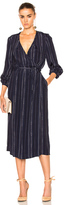 Rodebjer Lu bumble Dress in Blue,Stripes.