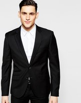 Antony Morato Suit Jacket With Stretch In Super Slim Fit