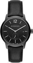 Burberry Men's Swiss Black Leather Strap Watch 40mm BU10003