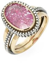 Moritz Glik Women's 18K Yellow Gold, Silver & Ruby Ring