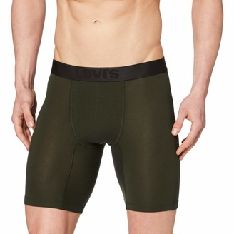 Levi's Men's Movement Tencel Long Boxer 1P Shorts