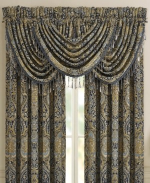 J Queen New York Five Queens Court Palmer Waterfall Valance Bedding