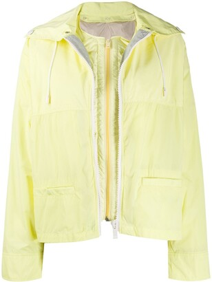Army by Yves Salomon Rain Jacket With Removable Gilet