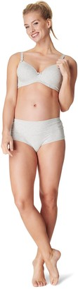 Noppies Women's Maternity Damen Short Cotton Melange