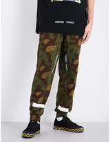 Off-White Camouflage cotton-jersey jogging bottoms