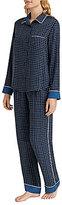 DKNY Plaid Satin Pajamas