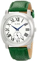 A Line a_line Women's AL-80023-02-D-GN Pyar Analog Display Japanese Quartz Green Watch