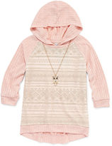 Beautees Hoodie-Big Kid Girls