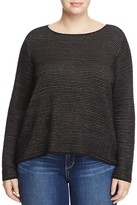 Eileen Fisher Plus Boat Neck Sweater