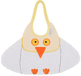 Zigozago Bird Bib-WHITE, YELLOW