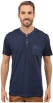 Kenneth Cole Reaction Henley Neck T-Shirt