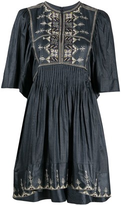 Etoile Isabel Marant Thea embroidered dress