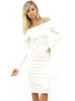 Amanda Uprichard Astaire Dress in Ivory