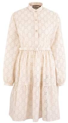 Gucci GG macrame dress
