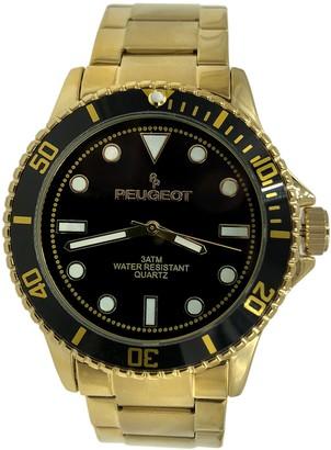 Peugeot Men's Stainless Steel Bracelet Watch
