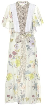 See by Chloe Floral-printed midi dress