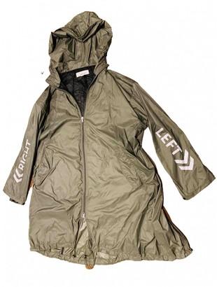 Circus Hotel Khaki Polyester Trench coats
