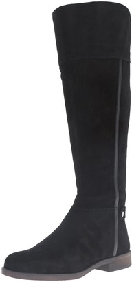 Franco Sarto Women's Christine Equestrian Riding Boot Black 1 10 M US