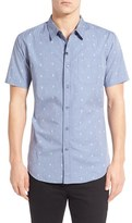 Imperial Motion Men's 'Crosby' Print Short Sleeve Woven Shirt