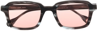 Études Studio Green sunglasses