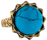 House Of Harlow Turquoise Spike Ring