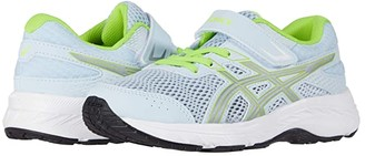 Asics Kids GEL-Contend 6 (Toddler/Little Kid) (Soft Sky/Pure Silver) Girls Shoes