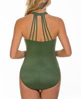 Magicsuit Olive Strappy-Back One-Piece