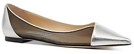 Jimmy Choo Women's Saia Pointed-Toe Flats