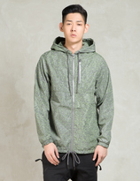 Publish Charcoal/Green Jupiter-3M Speckle Nylon Jacket