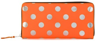 Comme des Garcons polka dot wallet