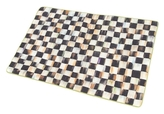 Mackenzie Childs Courtly Check Reversible Cotton and Linen Placemat