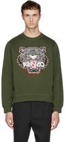 Kenzo Khaki Tiger Sweatshirt