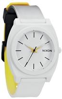 Nixon Time Teller P - Black / White / Yellow Fade