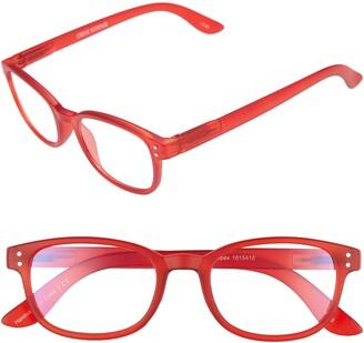 Corinne McCormack ColorSpex(R) 50mm Blue Light Blocking Reading Glasses