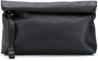 Ann Demeulemeester Roll Down Clutch Bag