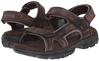Skechers Relaxed Fit 360 Gander - Alec (Brown) Men's Sandals
