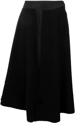 Comme des Garcons Pre-Owned 2000's double-layer skirt