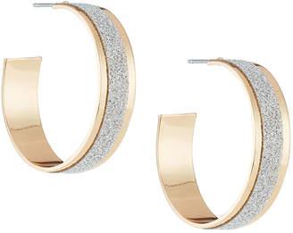 Berry Jewelry Glitter Paper Hoop Earrings
