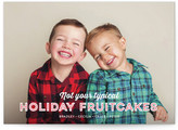 Minted Holiday Fruitcakes Christmas Photo Cards