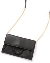 Moda Luxe Black Harper Clutch Black 1 Size