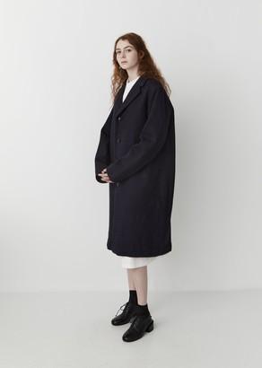 Blue Blue Japan Kumo Gakaru Wool Coat