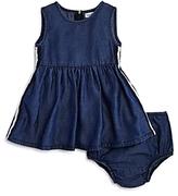 Splendid Girls' Side-Stripe Dress & Bloomers Set - Baby